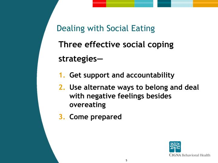 Dealing with Social Eating