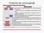 criteriile de convergen