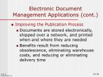 electronic document management applications cont2