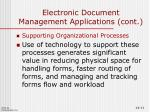 electronic document management applications cont3
