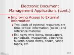 electronic document management applications cont5
