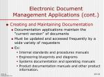 electronic document management applications cont6