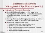 electronic document management applications cont7