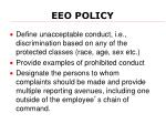 eeo policy