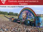 festivals events and tourism in flanders