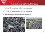 recreational traffic in flanders1