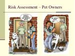 risk assessment pet owners2