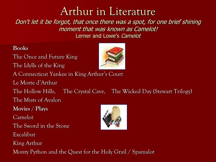 Arthur in Literature