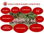 education based athletics