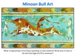 minoan bull art
