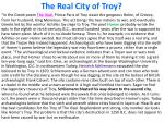 the real city of troy