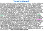 troy continued