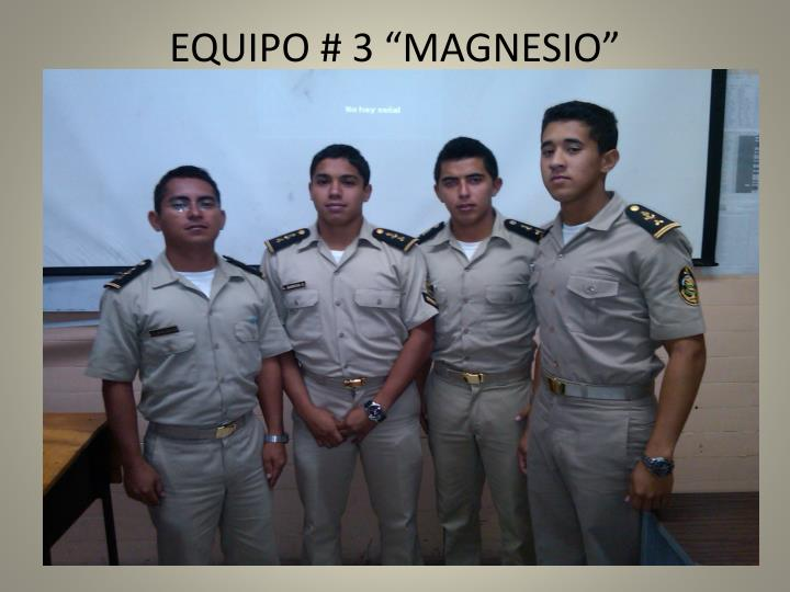 equipo 3 magnesio n.
