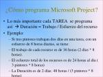 c mo programa microsoft project1