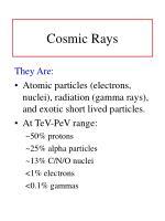 cosmic rays1