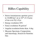 hires capability