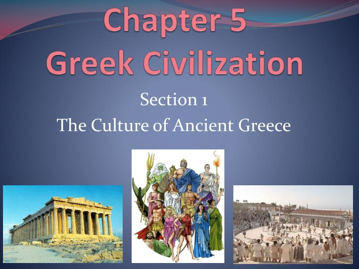 chapter 5 greek civilization n.