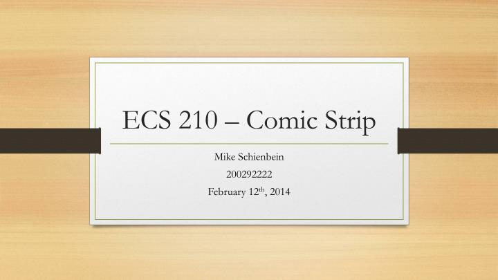 ecs 210 comic strip n.