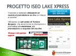 progetto iseo lake xpress3