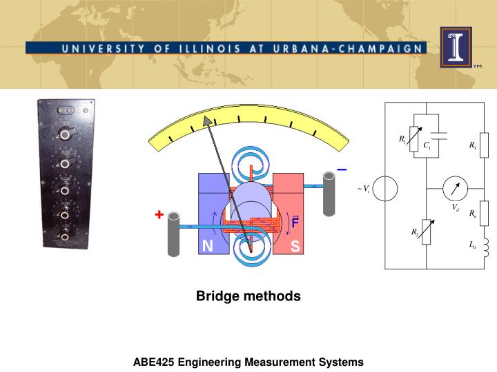 bridge methods n.