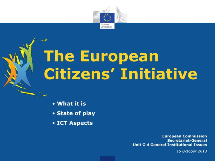 the european citizens initiative n.