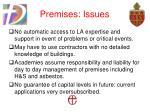 premises issues