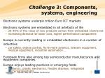 challenge 3 components systems engineering