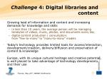 challenge 4 digital libraries and content