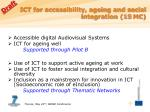 ict for accessibility ageing and social integration 15 m