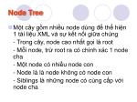 node tree