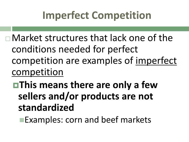 Ppt 7 1 What Is Perfect Competition Powerpoint Presentation Id