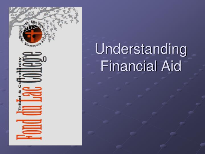understanding financial aid n.
