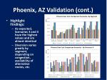 phoenix az validation cont1