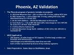 phoenix az validation