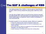 the nap challenges of kbs