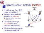 botnet monitor gatech karstnet