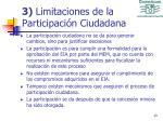 3 limitaciones de la participaci n ciudadana