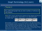 graph terminology 9 2 cont3