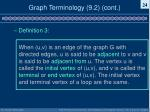 graph terminology 9 2 cont4