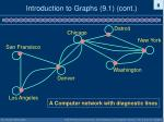 introduction to graphs 9 1 cont4