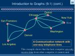 introduction to graphs 9 1 cont6