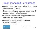 bean managed persistence