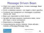 message driven bean