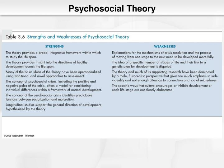 identity conceptualized by psychosocial theory Loyola university chicago the effects of racial identity on african american youths' psychosocial adjustment: a conceptualization of.