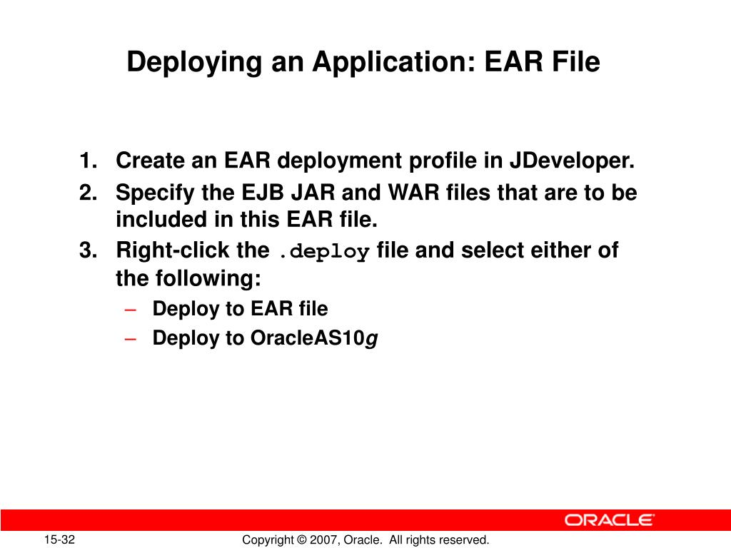 PPT - Deploying Java EE Applications PowerPoint Presentation