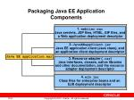 packaging java ee application components