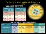 fundamental particles interactions redux