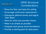 qris structural considerations