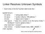 linker resolves unknown symbols4