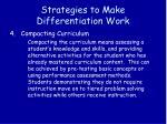 strategies to make differentiation work3